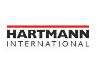 Hartmann International Strickmütze-Logo